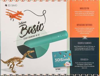 3D Simo Basic 3D Drucker-Stift 1.75mm