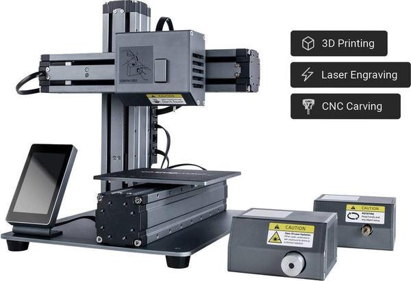 Allnet Snapmaker 3D-Drucker -Systembaukasten 3-in-1 (SNAP_3D_3-1)