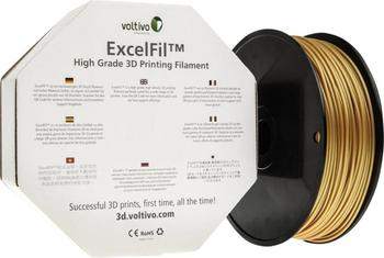 Voltivo ExcelFil ABS Filament gold (EF-ABS-300-BGOLD)