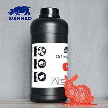 Wanhao UV-Resin 1000ml Rot