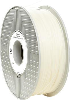 Verbatim PLA Filament 1.75mm transparent