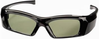 Hama 95565 3D-Shutterbrille für Panasonic 3D-TVs, wiederaufladbar, schwarz