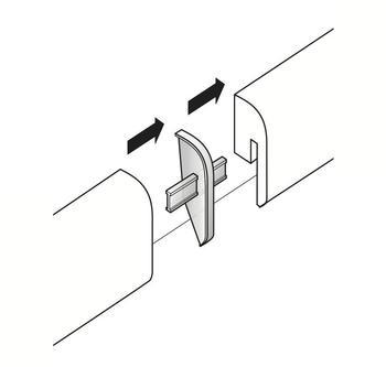 Parador Alu Optik Übergangskappen Typ2 SL 4