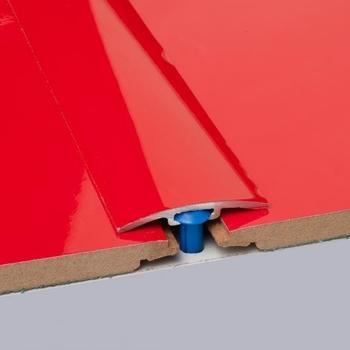 Elesgo Übergangschiene super Glanz Color Elesgo Rot 90 cm