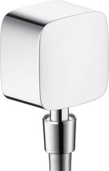 Hansgrohe Fixit Square Schlauchanschluss mit Rückflussverhinderer chrom (26455000)