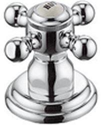 Kludi Adlon Seitenventil, Markierung Hot (Chrom, 518180520)