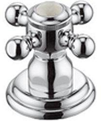Kludi Adlon Seitenventil, Markierung neutral (Chrom, 518480520)