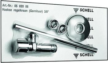 Schell Eckventil-Set Comfort, 3/8 Zoll x 3/8 Zoll (050200699)