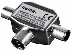 Hama 42998 Antennen-Verteiler Koax-Kupplung