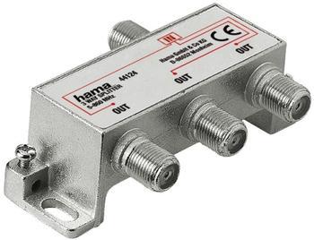Hama 44124 Breitband-Kabelverteiler 3fach