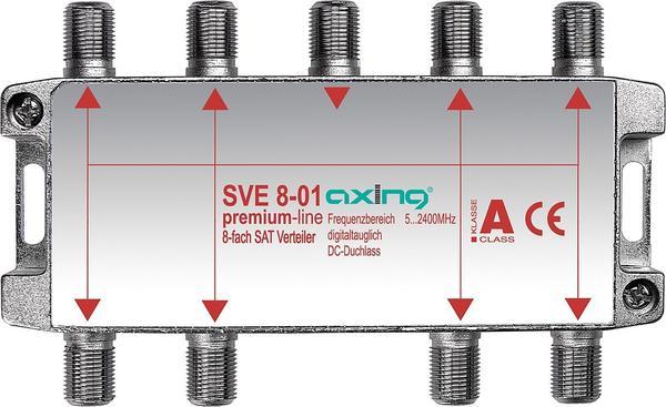 Axing SVE SAT-Verteiler Splitter für DVB-T2 HD BK Unicable