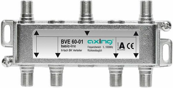 Axing BVE BK-Verteiler (5-1000 MHz) für Kabelfernsehen und DVB-T2 HD