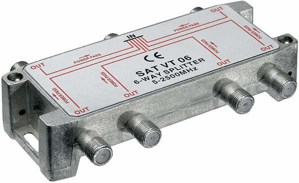 Wentronic Sat-Verteiler 100dB 5-2500 MHz digital-tauglich