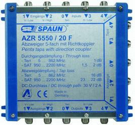 Spaun AZR 5550/20 F