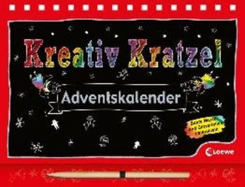 Loewe Kreativ Kratzel Adventskalender 2017