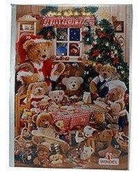 Windel Teddy Weihnachtsmann Adventskalender