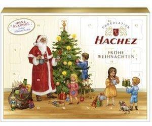 Hachez Adventskalender mit Vollmilch-Chocolade 130 g
