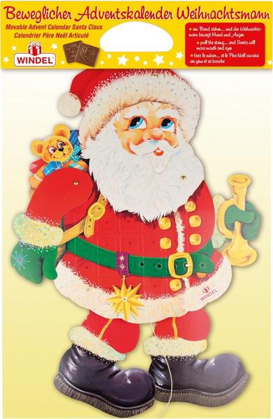 Windel Beweglicher Adventskalender Weihnachtsmann