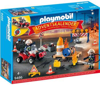 Playmobil 9486 Feuerwehreinsatz auf der Baustelle 2018