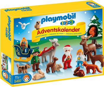 Playmobil 1.2.3 Adventskalender Waldweihnacht