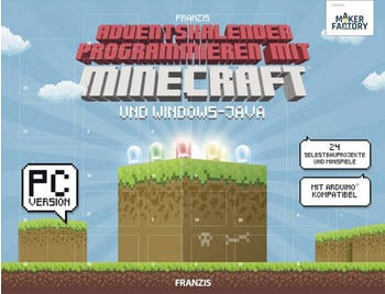 Franzis Makerfactory Programmieren mit Minecraft und Windows-Java 2018