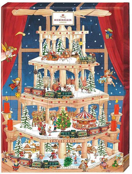 Niederegger Weihnachtspyramide