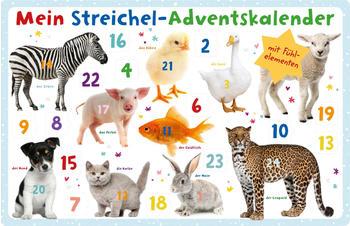 Ars Edition Mein Streichel-Adventskalender 2018