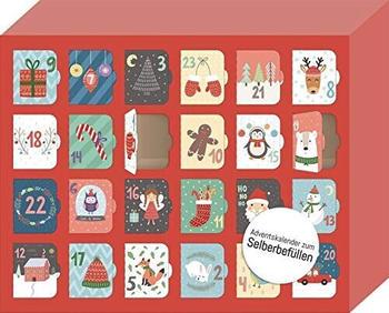 Ars Edition Morgen kommt der Weihnachtsmann Adventskalender