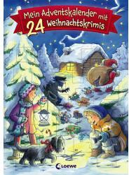 Loewe Mein Adventskalender mit 24 Weihnachtskrimis