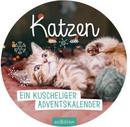 Ars Edition Ein kuscheliger Adventskalender für Katzenfans