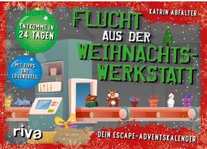 Riva Verlag Flucht aus der Weihnachtswerkstatt Dein Escape-Adventskalender 2020