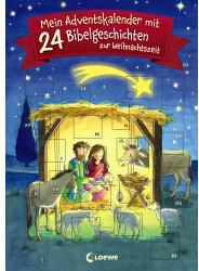 Loewe Mein Adventskalender mit 24 Bibelgeschichten zur Weihnachtszeit