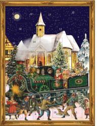 Richard Sellmer Verlag Sellmer Adventskalender - Weihnachtszug