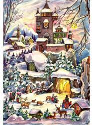 Richard Sellmer Verlag Sellmer Adventskalender - Weihnachtsschloss