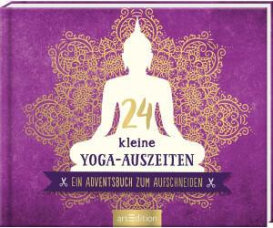 Ars Edition 24 kleine Yoga-Auszeiten - Ein Adventsbuch zum Aufschneiden: Adventskalender für Yoga-Fans