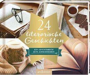 Ars Edition 24 literarische Geschichten: Ein Adventsbuch zum Aufschneiden Adventskalender