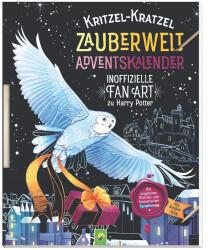 Schwager & Steinlein Kritzel-Kratzel Zauberwelt Adventskalender