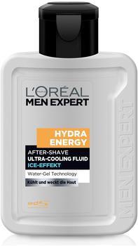 L'Oréal Men Expert Hydra Energy After-Shave Ultra-Cooling Fluid Ice-Effekt (100 ml)