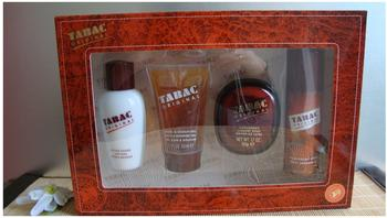 Mäurer & Wirtz Tabac Original Lotion 50 ml + Shower Gel 50 ml + Seife 50 g + Deo Spray 50 ml Geschenkset