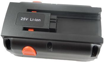 vhbw Ersatzakku 380LI Li-Ion 25V 4,0Ah