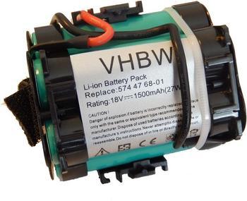 vhbw Ersatzakku Automower 305 Li-Ion 18V 1,5Ah