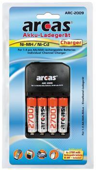 Arcas ARC-2009 + 4x AA 2700mAh