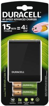 Duracell Speedy-Ladegerät CEF27 inkl. 4 Akkus (36529)