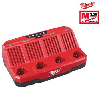 Milwaukee Muliti-Ladegerät M12 C4