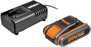 Worx Ladegerät WA3860 + Akku WA3551