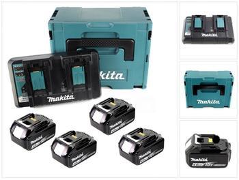 Makita Power-Source Kit 4 x 18V 4,0 Ah (197503-4)