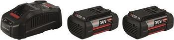 Bosch GAL 3680 CV + 2 x GBA 36 V 6,0 Ah
