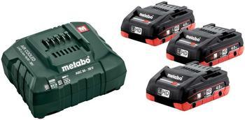 Metabo Basis-Set ASC 30-36 V + 3 x 18V 4,0Ah (685132000)