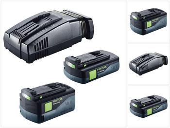 Festool SCA 8 + 2 x 18V-5,2 Ah/3,1 Ah