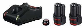 Bosch Starter-Set GAL 12V-40 + 2 x GBA 12V 2.0 Ah